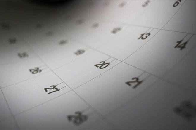 Ya puedes conseguir el calendario del año dos mil veinte conmigo