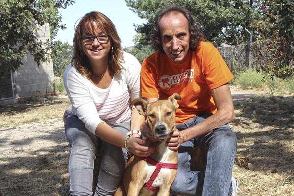 Naif ha sido adoptado 10 días después de ser apuñalado.
