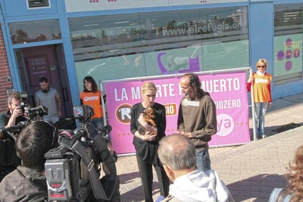 Cifuentes se compromete a conseguir el #sacrificiozero en la Comunidad de Madrid.