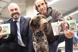 65.000 perros viajan en Metro de Madrid en 6 meses.
