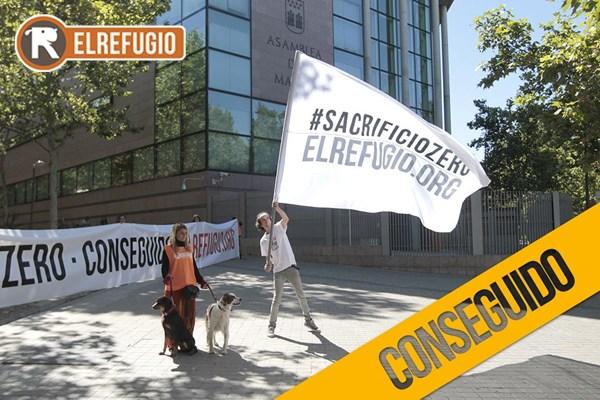 Celebramos los 20 años de El Refugio con... SacrificioZero!!