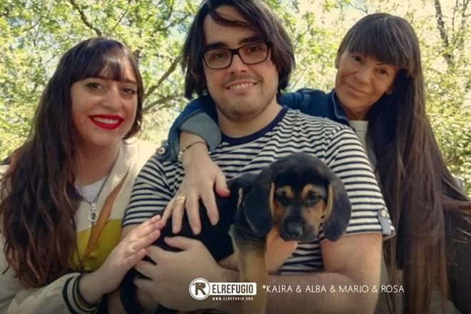 Barbarella y sus 9 hijos han sido adoptados.