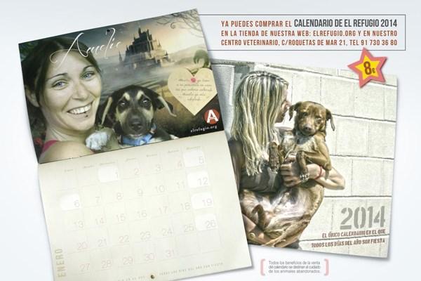 Ya puedes tener tu calendario de El Refugio 2014