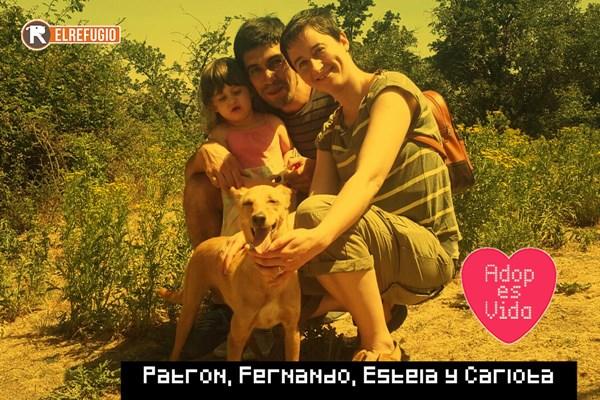 CUALQUIER EXPRESIÓN DE ALEGRÍA ES BUENA SI TE ADOPTAN EN AGOSTO: ENHORABUENA!!!!