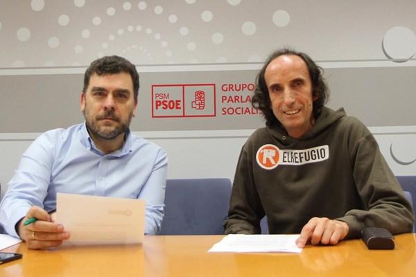 EL REFUGIO SE REÚNE CON PP Y PSOE EN LA ASAMBLEA DE MADRID.