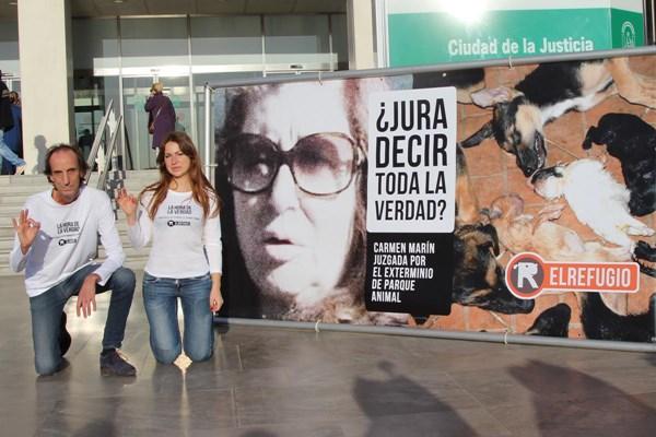 LA PRESUNTA EXTERMINADORA DE PARQUE ANIMAL HA SIDO JUZGADA.