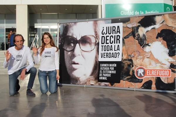 LA EXTERMINADORA DE PARQUE ANIMAL, CARMEN MARÍN, CONDENADA A 3 AÑOS Y 9 MESES DE CÁRCEL