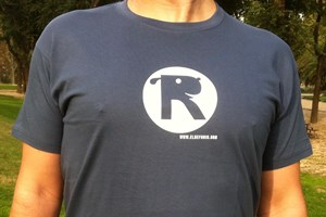 Camiseta Chico El Refugio Gris