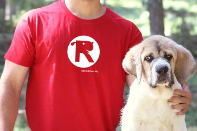 Camiseta Chico El Refugio Rojo Tango