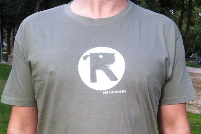 Camiseta Chico El Refugio Caqui