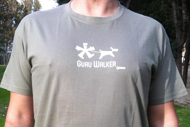 Camiseta Chico Guau Walker Caqui