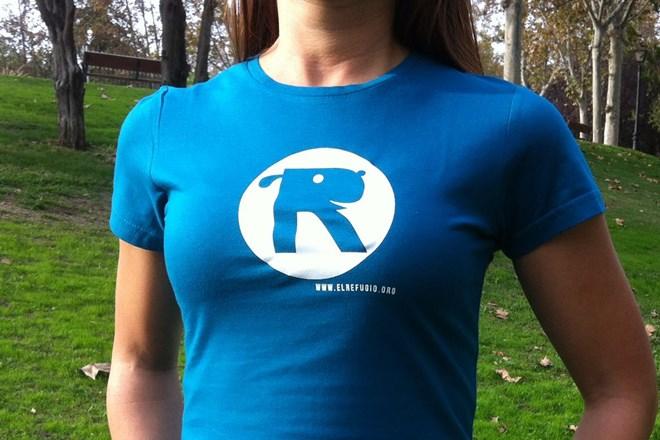 Camiseta Chica El Refugio Azul