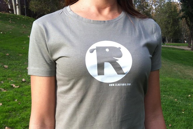 Camiseta Chica El Refugio Caqui