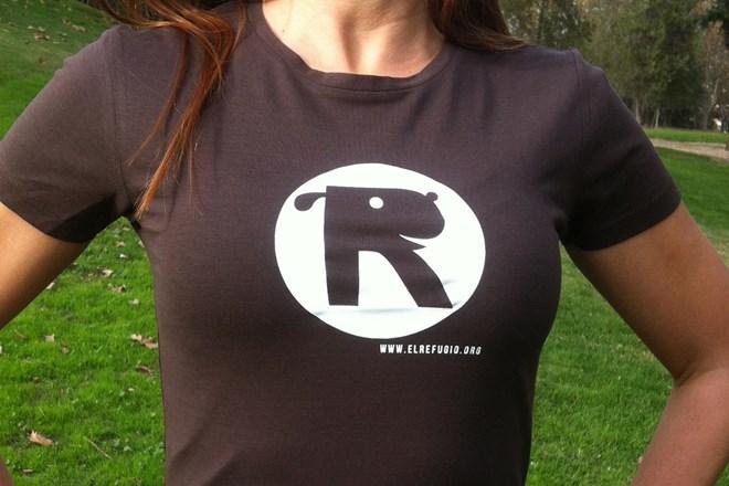 Camiseta Chica El Refugio Chocolate