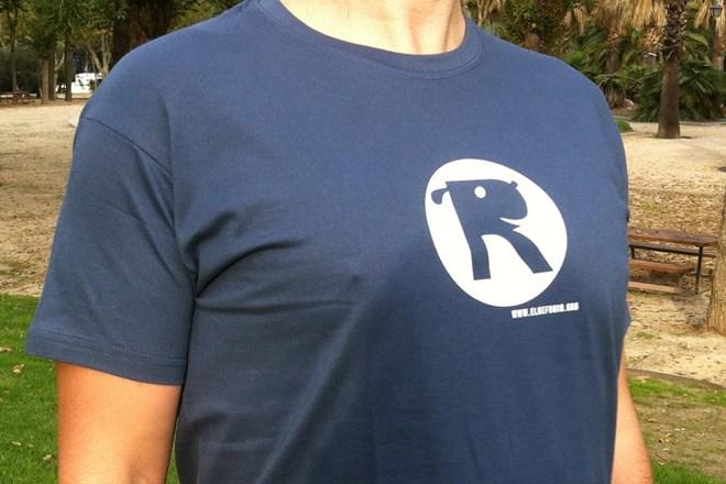 Camiseta Chico El Refugio Azul