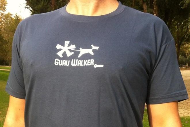 Camiseta Chico Guau Walker Verde Army